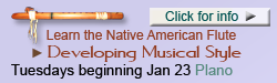 NAF Player's Workshop, Native flute class with Cornell Kinderknecht
