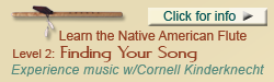 Finding Your Song, Native flute class with Cornell Kinderknecht