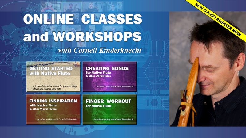 Online Class and Workshops with Cornell Kinderknecht