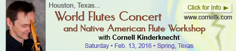 Houston Concert and Workshop with Cornell Kinderknecht - February 13, 2016